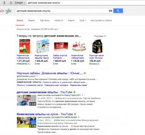 Поисковое продвижение товара средствами видео в Гугле