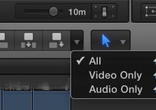 Блок кнопок для вставки видео/аудио