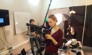 видеокамера и операторский риг
