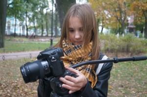 Детский кинокурс Ленвидео - Аня и GH4 Panasonic