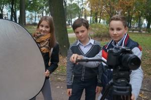 детская киностудия - операторская группа