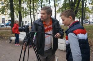 детский кинокурс ленвидео - мастер Сергей Щербаков